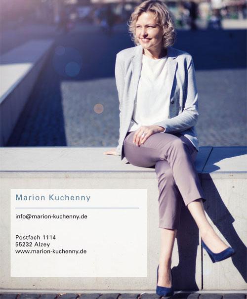 Impressum Marion Kuchenny