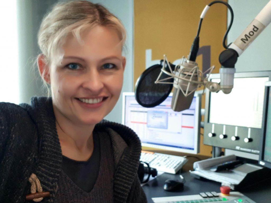 Radiofrau Marion Kuchenny